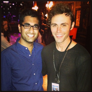 Yes, I got to meet Mikky Ekko, and yes it was amazing!