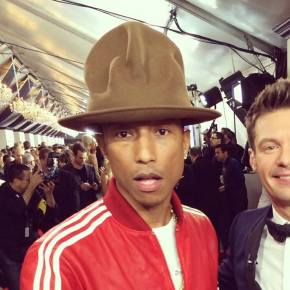 Pharrell and his hat