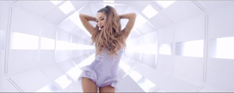 Flailing Ariana
